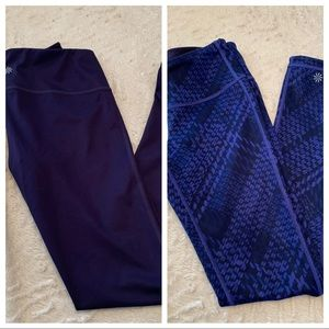 Athleta Leggings Reversible Sz S-NWOT